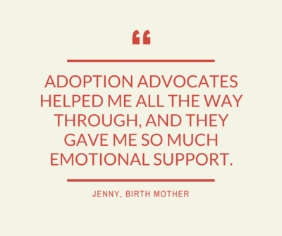 Birth Mother Stories Adoption Advocates Austin Tx